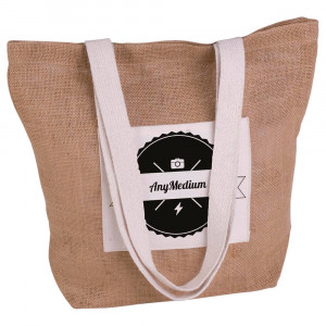 Small juta beach bag