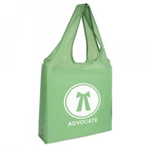 PE foldable shopping bag 190T