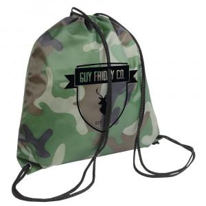 PE rucksack in camouflge 210T
