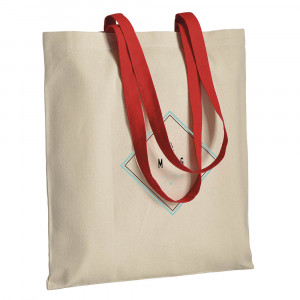 Colour handled shopper 220 gr