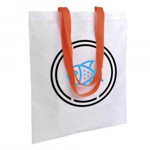 PE coloured handled bag 210T