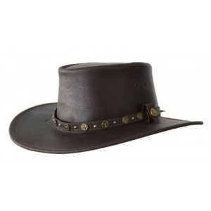 1071 Waxed Leather hat
